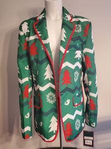 Men's Holiday Ugly Blazer